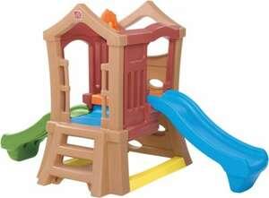 Step2 Spielturm Play Up Double Slide
